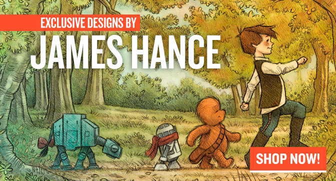 Exclusive Designs By James Hance!
