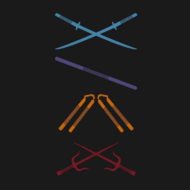 T-Shirts, TMNT Weapons | TeePublic