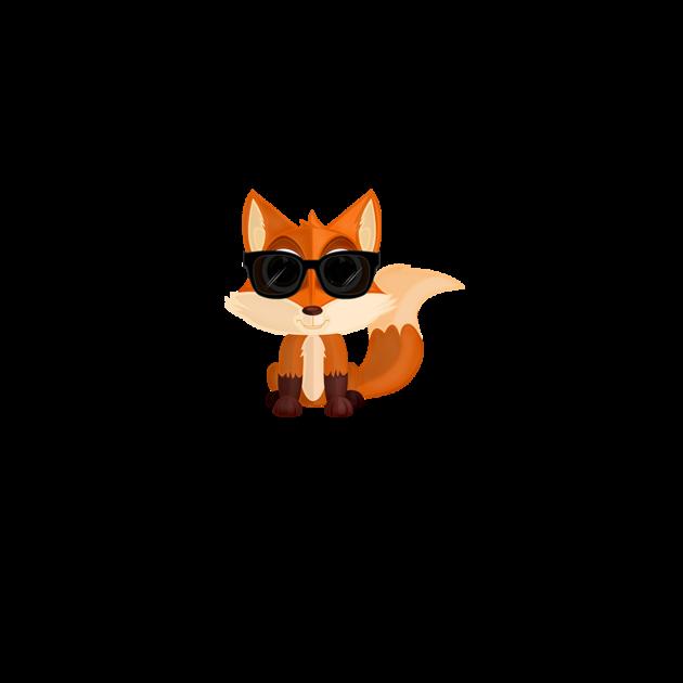 T shirts cool fox teepublic for Cool fox drawings